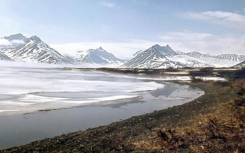 Июльский лед