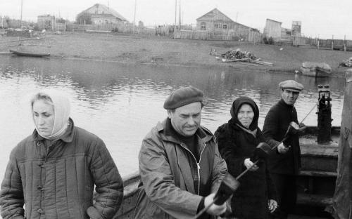 Паром в Усть-Камчатске