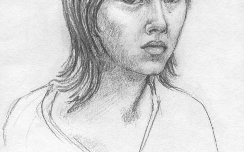 Самовыражение и творчество. Катя Мякинькова. Автопортрет